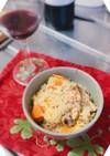 サバ缶と玉ねぎの炊き込みご飯