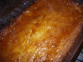 バナナバターケーキ