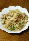 雑な男料理:豚肉の炊き込みご飯!!