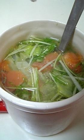 超ヘルシー!サラダスープ