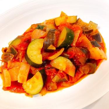 水なし簡単♡夏野菜のヘルシーラタトゥイユ