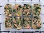 離乳食完了期☆鮭と野菜のクリーム煮 の写真
