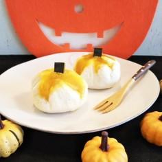 かぼちゃの煮物で☆簡単チーズかぼちゃまん
