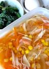 【作り置き】具沢山!かに玉スープの下準備