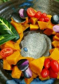華やか♥サマーリース かぼちゃサラダ