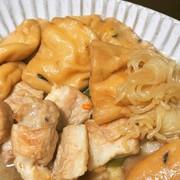 簡単!がんもどきと豚バラの煮物の写真