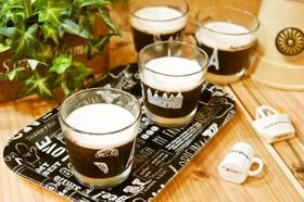 寒天で作る!お腹に優しいコーヒーゼリー♪
