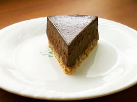 簡単!濃厚チョコレートチーズケーキ