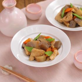 鶏むね肉でしっとり♪簡単基本の筑前煮