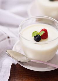 北海道♪ぷるぷるこっくりミルクプリン