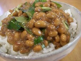 Y家の納豆ご飯✿