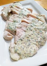 クィーンクック鶏ハムマスタードマヨソース