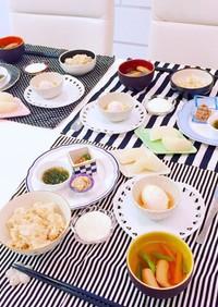 温泉玉子とヘルシー朝ご飯 作り置き 簡単