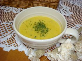 やさしいお味❤パンプキン豆乳スープ