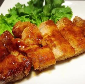 簡単柔らか☆厚切り豚ロース肉のトンテキ