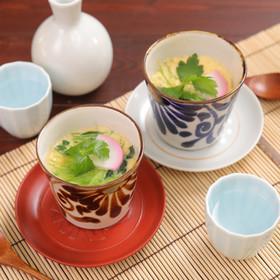 三つ葉香る♪レンジで簡単お手軽茶碗蒸し