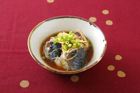 サバ缶と生姜のオイスター煮