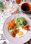 目玉焼き ヘルシー 糖質制限朝食