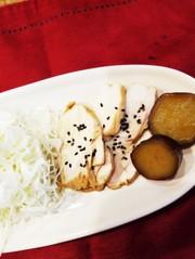 簡単!時短!鶏胸肉の柔らかレンジ煮☆の写真