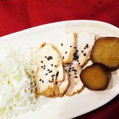 簡単!時短!鶏胸肉の柔らかレンジ煮☆