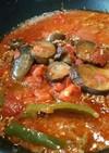 茄子と挽き肉のトマト煮