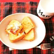 食パンでフワフワ、フレンチトースト!