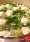 鶏だんごと春雨の中華風スープ 〜 無化調