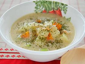 ♡♡ホッこり温まる豆乳スープ♡♡