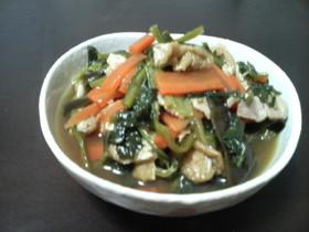 ●小松菜の煮浸し●
