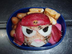 キャラ弁!ギロロ(伍長)弁当