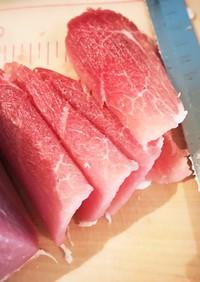 海外組へ 肉屋直伝!自分で薄切り肉