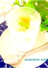 梨のゼリー&パンナコッタココ