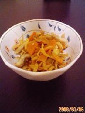 切干大根のピリ辛炒め煮