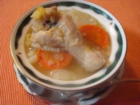 にんにくのこく?!手羽元と野菜のスープ☆