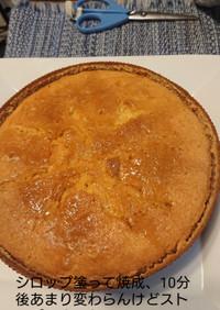 卵と粉多め処方のパウンドケーキ