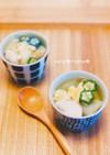 ささみと冬瓜のとろみスープ