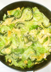 高野豆腐ゴーヤ卵炒め簡単ゴーヤチャンプル