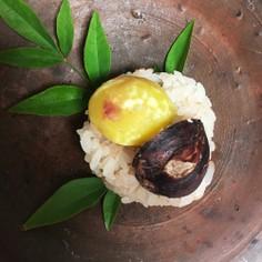 もち米だけの贅沢栗ご飯