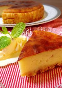 ●アップルヨーグルトチーズケーキ●