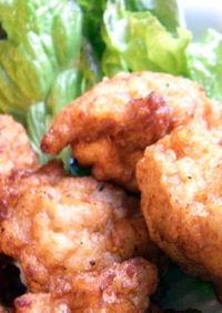 鶏むね肉のふわふわ揚げ