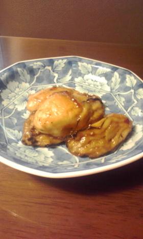 牡蠣の柚子胡椒甘辛和え