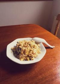 山椒の香る鶏肉胸肉と青じそ味噌の簡単炒飯