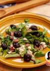 カリカリベーコンとチェリーのサラダ