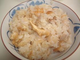 ツナ缶・なめ茸の炊き込みご飯