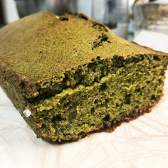 濃〜いオトナの紅茶抹茶パウンドケーキ