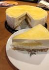 丸ごとレモンのレアチーズケーキ