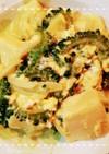 簡単!ゴーヤと高野豆腐の味噌卵炒め