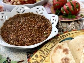 エジプト♡ブラウンレンティル豆の伝統料理