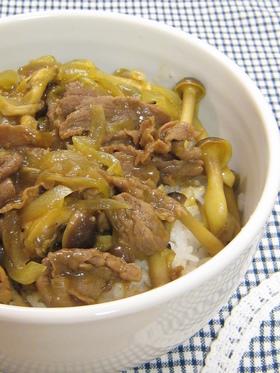 懐かしの和風カレー丼