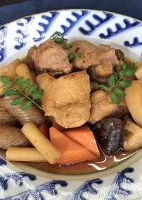 筑前煮(すき焼きどんぶりのたれ)